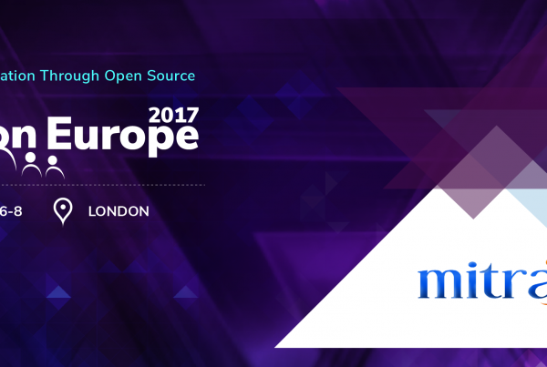 Join Mitra Innovation at the WSO2 Conference Europe 2017 – 'Agile Digital Transformation Through Open Source'